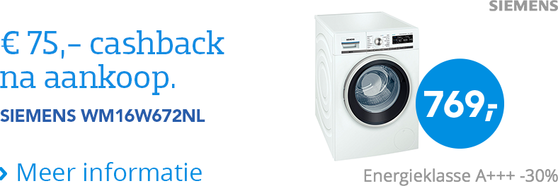 siemens cashback coolblue